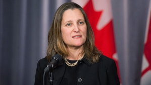 Freeland on Meng Wanzhou case