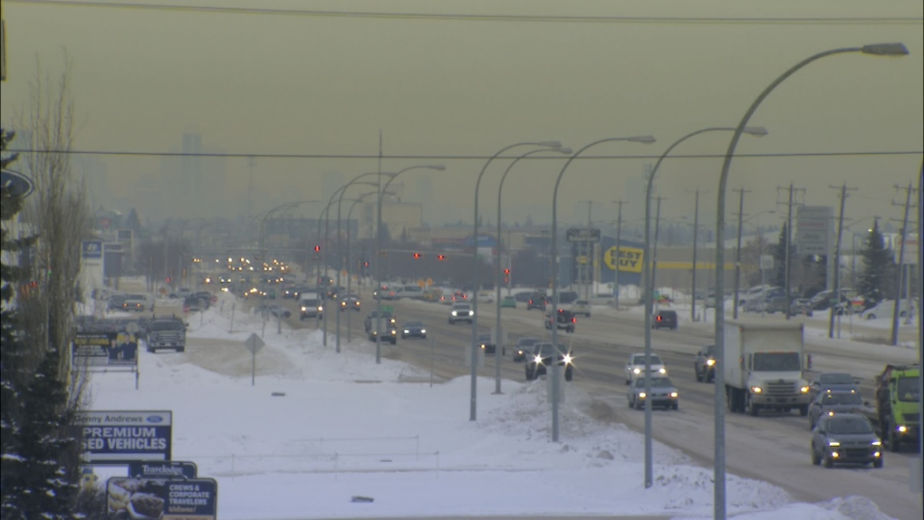 Edmonton, Stony Plain Road, air quality