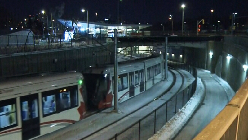 LRT service reduced to ten trains