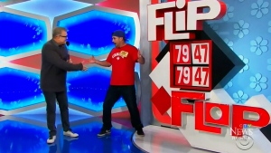 Regina man comes on down to the Price is Right