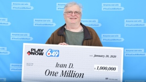 Ivan Dubinsky, who began playing the lottery in the fall, found out he won the life-changing prize via email. (BCLC)