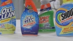 Stain removers and some detergents were tested in a lab to see which worked better.