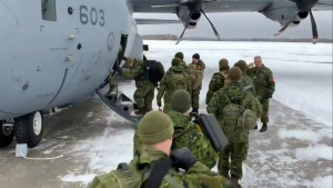 CTV National News: Reinforcements bringing relief