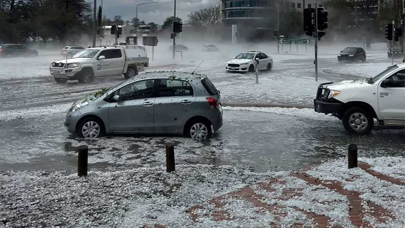 CTV National News: Australia hail causing chaos