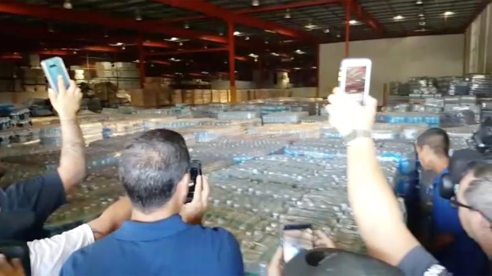 Hurricane Maria supplies