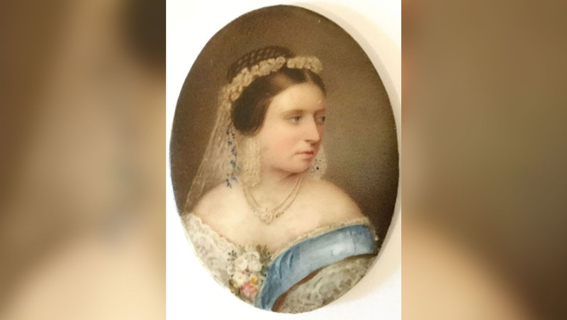 Queen Victoria's clothes will be sold at auction. (Hansons Auctioneers / CNN)