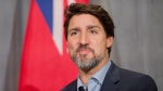 Prime Minister Justin Trudeau speaks to media while meeting with Mayor of Winnipeg, Brian Bowman during the Liberal Cabinet Retreat at the Fairmont Hotel in Winnipeg, Monday, Jan. 20, 2020. THE CANADIAN PRESS/Mike Sudoma