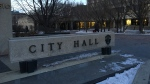 CTV News file image of Winnipeg City Hall. (Zachary Kitchen/CTV News)