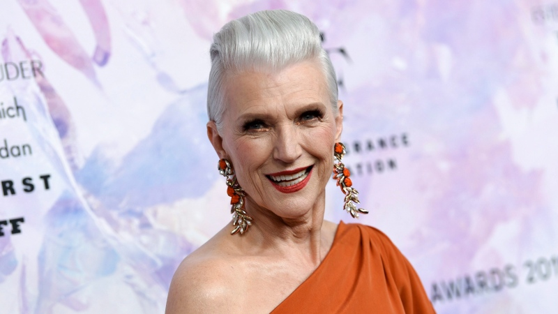 Model Maye Musk attends the Fragrance Foundation Awards at the David H. Koch Theater at Lincoln Center on Wednesday, June 5, 2019, in New York. (Photo by Evan Agostini/Invision/AP)