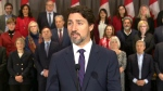 PM Trudeau speaks at cabinet retreat in Winnipeg