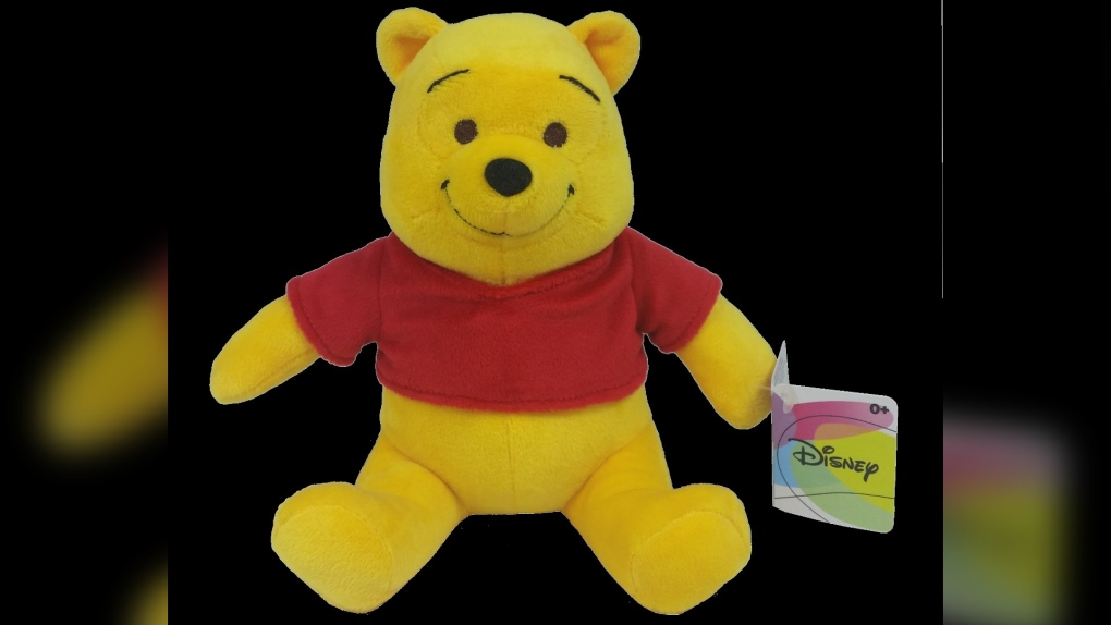 Winnie the Pooh toy recall