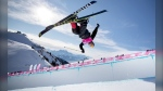 Calgarian Andrew Longino won gold in the freeski halfpipe event at the Youth Olympics in Lausanne, Switzerland. (Simon Bruty/OIS)