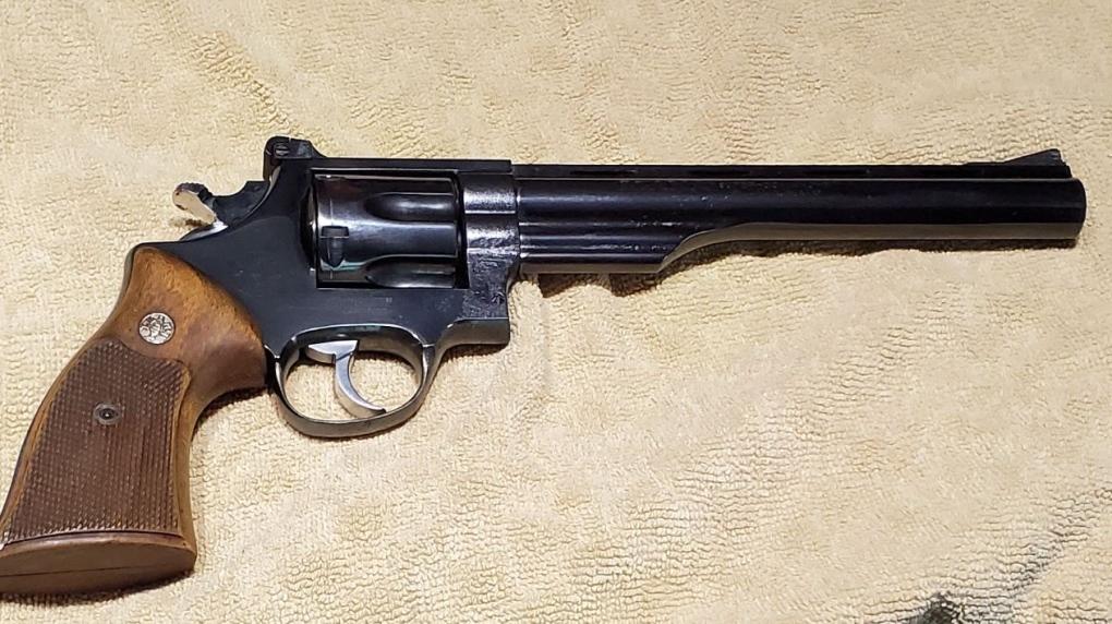 A photo of a gun