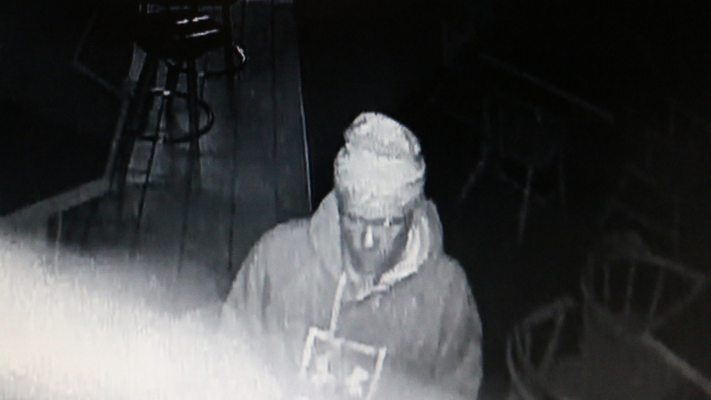 OPP released a photo of a suspect after a break-in at the legion in Essex, Ont. (Courtesy OPP)
