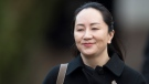 Meng Wanzhou, chief financial officer of Huawei, leaves her home to go to B.C. Supreme Court in Vancouver, Tuesday, January 21, 2020. Wanzhou is in court for hearings over an American request to extradite the executive of the Chinese telecom giant Huawei on fraud charges. THE CANADIAN PRESS/Jonathan Hayward