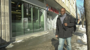 Jean-Willy Ozerus lost his job at Adonis will waiting on work permits.