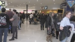 St. Thomas mall packed with hopeful extras