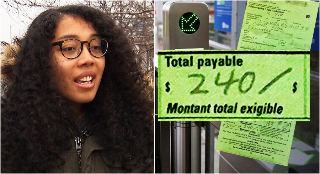 Commuter whose Presto card malfunctioned after loading it with money angry she was still given $240 fine