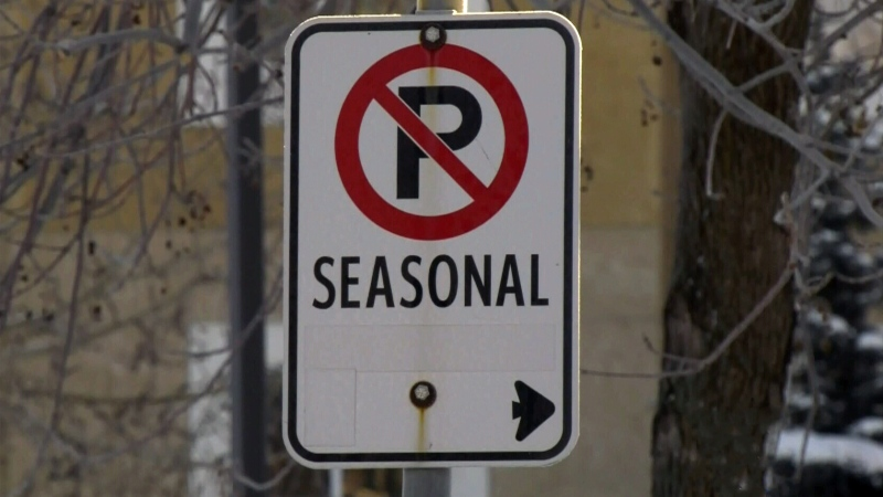 Seasonal parking ban to take effect