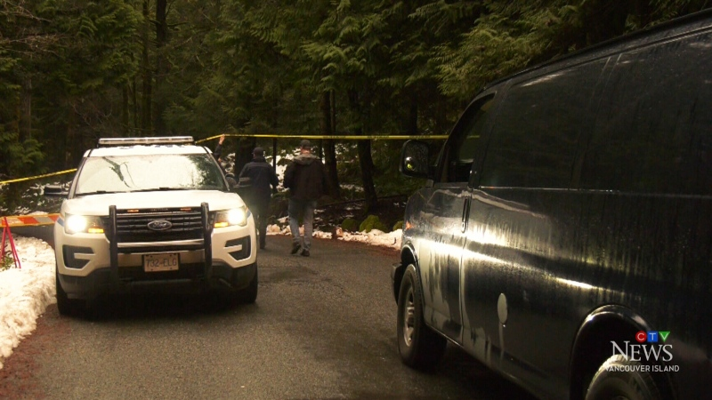 Homicide investigation underway in Langford