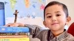 Young Mensa member Muhammad Haryz Nadzim. (CNN / Courtesy Nur Anira Asyikin)