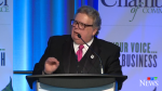 Mayor Ed Holder delivers his 2020 State of the City Address. (CTV London)
