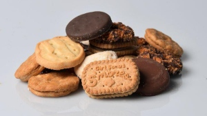 "The Kenosha Police Department in Wisconsin warned residents about ""highly addictive"" Girl Scout cookies. (Kenosha Police Department / Facebook)"
