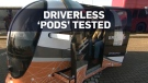 Driverless, unsupervised 'pods' tested on U.K. str
