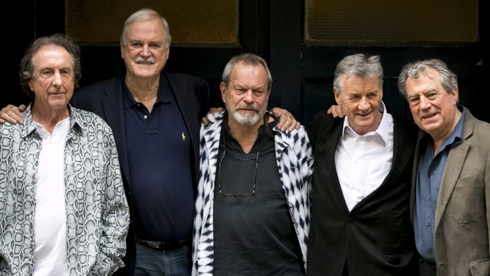 Monty Python members in 2014