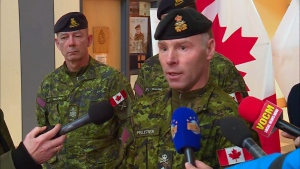 Update on military response to Newfoundland storm