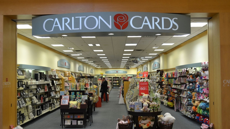 There are 76 Carlton Cards and Papyrus stores in Canada, all of which are expected to close in the next four to six weeks. (Raysonho / Creative Commons)
