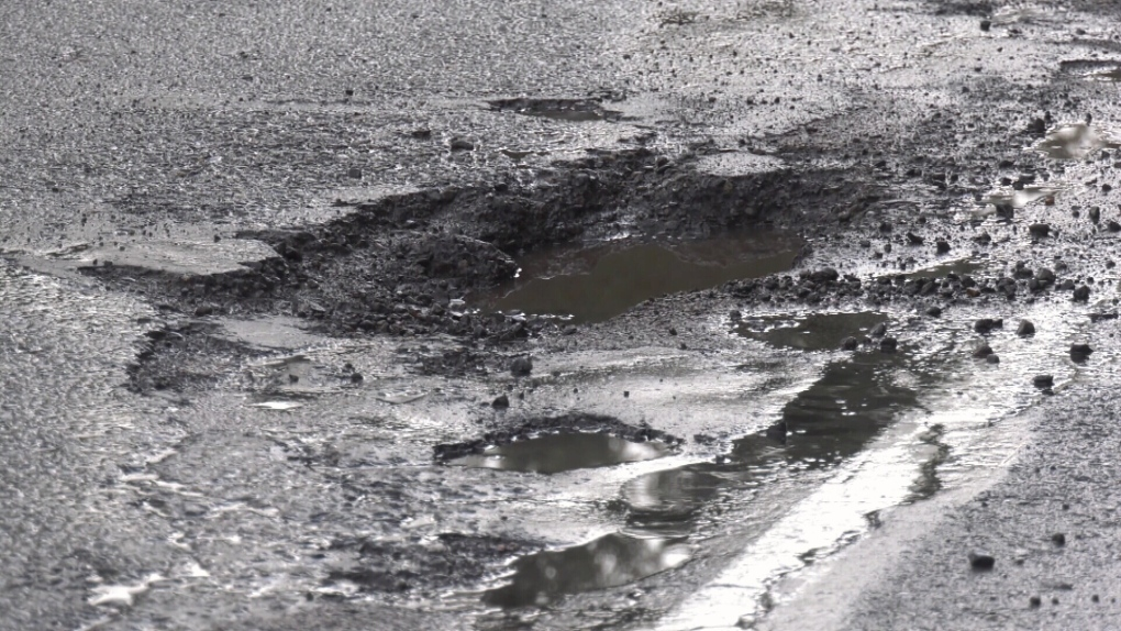 Recent spike in island street potholes due to freezing temperatures: Emcon