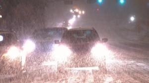 Edmonton snow traffic generic