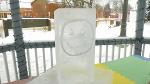 Ice on Whyte Festival, carving