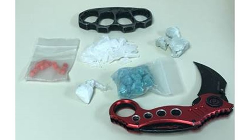 Fentanyl, crack cocaine and meth seized during Chatham bust