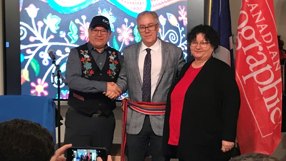 Canadian Geographic is teaming up with Saskatchewan's Metis community to preserve the Michif language. (Janella Hamilton/CTV Saskatoon)