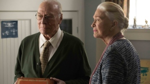 Actors Christopher Plummer and Diane Ladd are shown in a scene from the film 'The Last Full Measure.' (THE CANADIAN PRESS/HO-Roadside Attractions-Jackson Lee Davis)