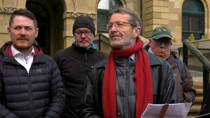 Former Alberta Liberal leader David Swann says he