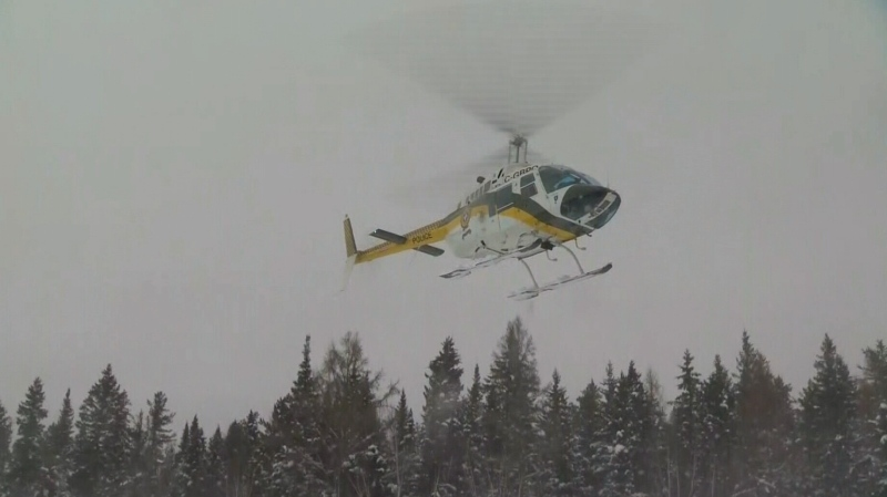 SQ helicopters were searching the area at the time of the crash.