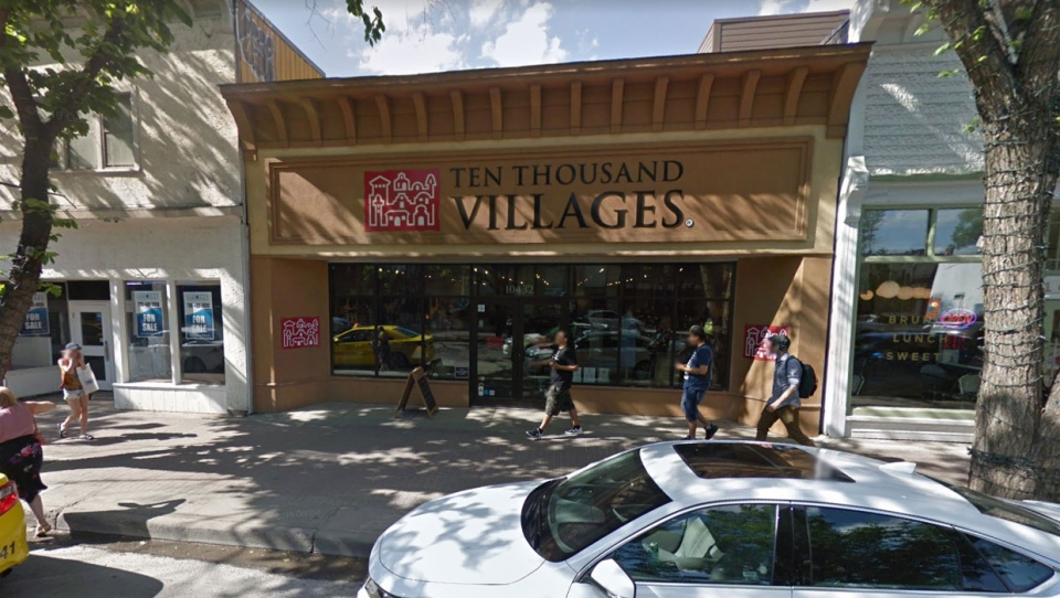 Ten Thousand Villages will also remain open on Edmonton's Whyte Avenue. (Google Maps)