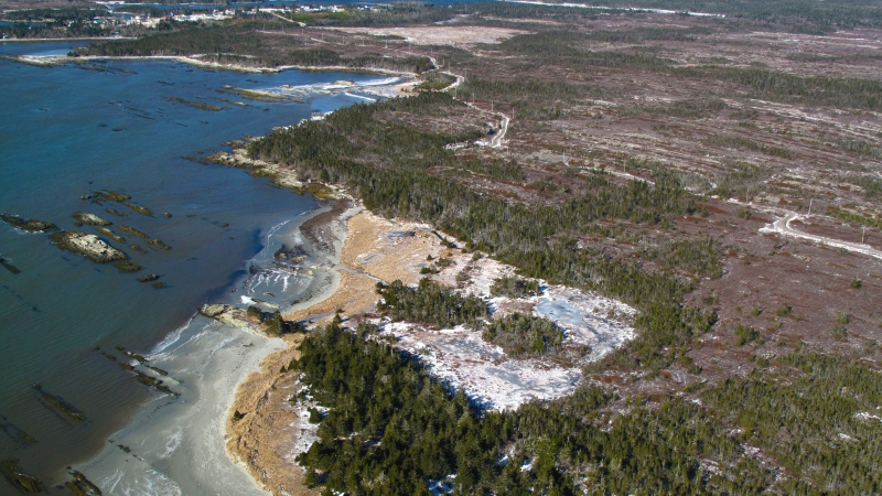 "Calls are mounting for the Nova Scotia government to reconsider a potential sale of a section of ""spectacularly rugged"" Crown-owned land along the province's Eastern Shore to private developers.The 285-hectare area of coastal barrens and wetlands known as Owls Head, shown in a handout photo, was quietly removed from a government list of lands awaiting legal protection last March. (THE CANADIAN PRESS/HO-Nova Scotia Nature Trust)"