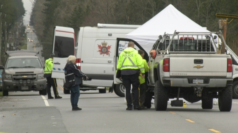 A 55-year-old man died on Wednesday, Jan. 22 after getting hit by a car while crossing the street in Surrey, B.C.