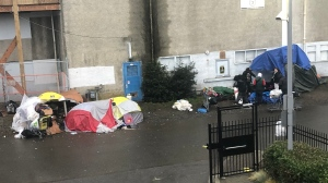 The City of Nanaimo says it is cracking down on homeless encampments being set up in the downtown core: (City of Nanaimo)