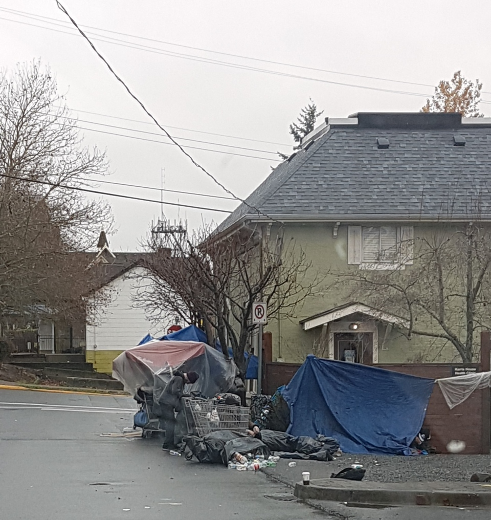 Nanaimo homeless