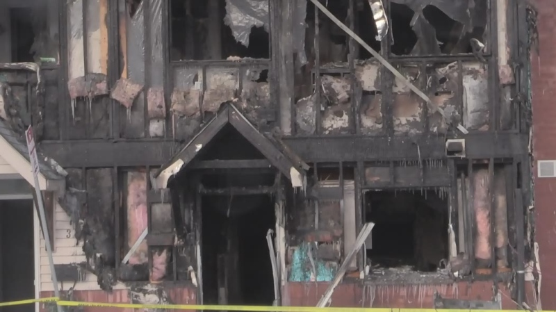 London man charged with arson after townhouse fire