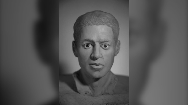 Faces of 15 Canadian unidentified human remains were reconstructed by students as part of a forensic sculpture workshop which included the man located in Chilliwack, as shown in this image provided by the RCMP. THE CANADIAN PRESS/HO-RCMP