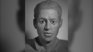 Faces of 15 Canadian unidentified human remains were reconstructed by students as part of a forensic sculpture workshop which included the man located in Chilliwack, as shown in this image provided by the RCMP. RCMP are seeking the public's assistance to identify the remains of a person found 47 years ago. (THE CANADIAN PRESS/RCMP)