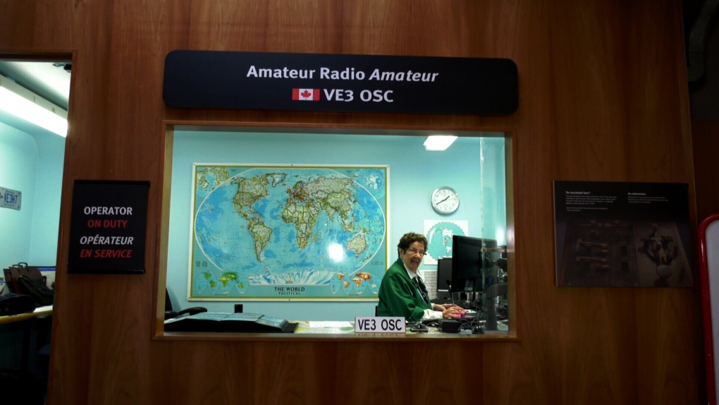 96-year-old ham radio operator makes an out-of-this world connection