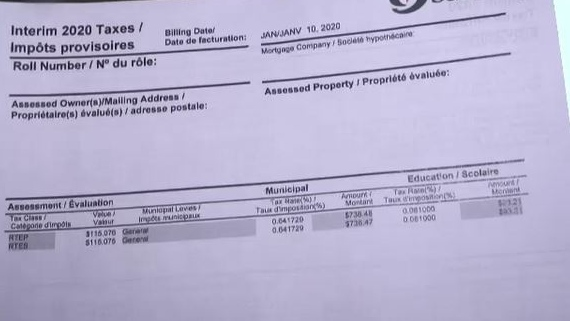 Greater Sudbury property taxes