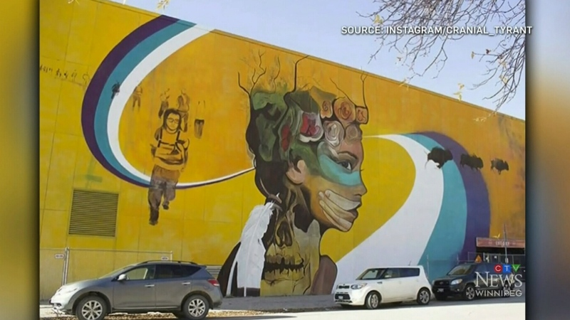 MMIWG mural in Winnipeg demolished